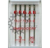 ORGAN 130/705H-E EMBROIDERY  5ks (75,90)