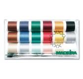 Madeira Quiltbox Cotona No.30 - 8030 - bavlněná nit - 18 cívek