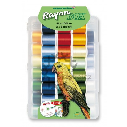 Madeira Rayon box  8042 - 42 cívek