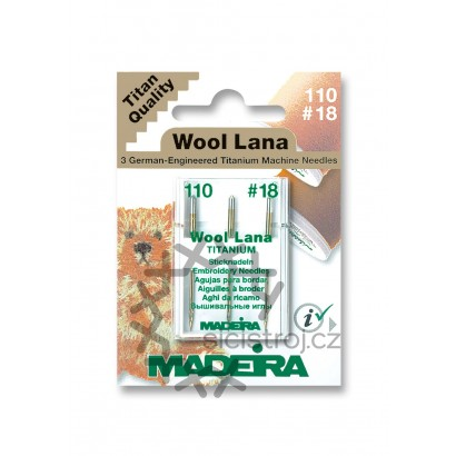 Madeira 9452 - Jehly pro vlněné nitě nitě